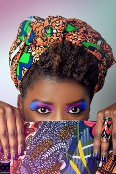 """African Fashion colors are so rich a beautiful""""!!"""