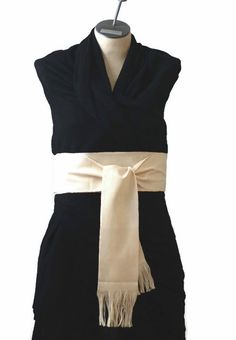 Woven Sash  Boho Chic Fashion  Fabric Belt  by brizel4TheAnimals