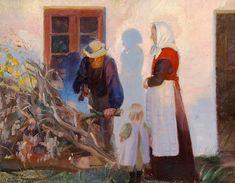 Anna Ancher (1859-1935) Danish Impressionist Artist ~ Blog of an Art Admirer