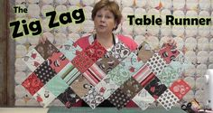 SCROLL DOWN To WATCH the VIDEO TUTORIAL The materials you need are: 1. One Charm Pack with at least 4o Five Inch Squares. 2. Half aYard of Batting or at least the same size as your Table Runner Zig Zag Top 3. Half aYard of Backing Fabric. Be sure to check out the enormous variety …