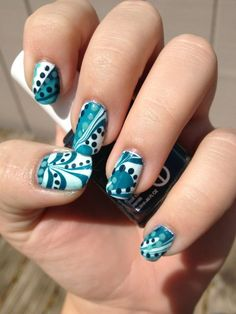 Water marble with dots! - Imgur
