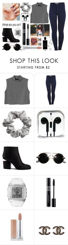 """""""•is it too late to say sorry now?•"""" by santania-12 ❤ liked on Polyvore featuring Monki, Pieces, H&M, Alexander Wang, Polar, Christian Dior and Agonist"""