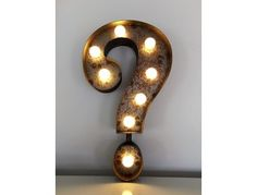 Question Mark Marquee Light