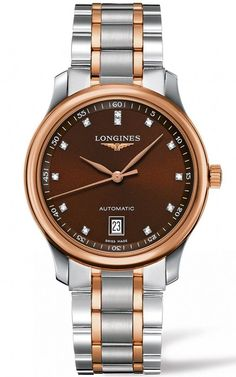 The Longines Master Collection Stainless Gold Cap 200 Automatic Men s Watch  L2.628.5. f2e3c419b06