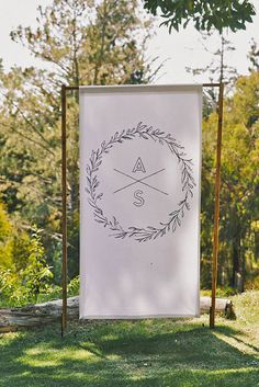 Ways To Use Wedding Monogram In Big Day Decor ❤ See more…