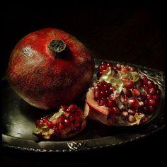 pinturas de granadas fruta - Buscar con Google