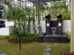 Desain Taman dan Kolam Hias Rumah Minimalis