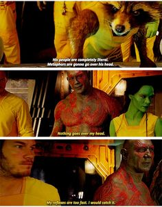 Funniest moments Guardians of the Galaxy