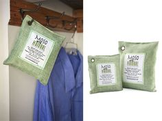 All Natural Air Purifying Bags - contains bamboo charcoal