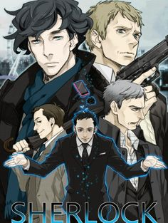 If BBC Sherlock was an anime.<-- well actually there's an official manga I just found out... I should go read