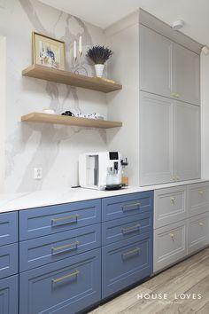Projekt NAVY - granatowa, elegancka kuchnia w klasycznym stylu Home Interior Design, Interior Decorating, Kitchenaid, Kitchen Design, Kitchen Ideas, Double Vanity, Luxury Homes, Kitchen Cabinets, House
