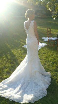 ♥ Designer Kleid – Spitze – St. Patrick – Modell Harry – Schleppe ♥  Ansehen: http://www.brautboerse.de/brautkleid-verkaufen/designer-kleid-spitze-st-patrick-modell-harry-schleppe/   #Brautkleider #Hochzeit #Wedding