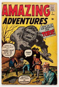 Amazing Adventures #HorrorComicBook #Marvel
