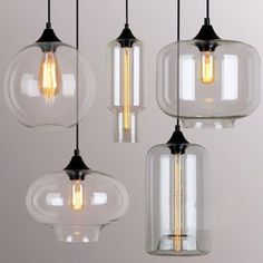 art deco glass pendant lights by unique's co. | notonthehighstreet.com