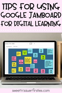 Are you looking for another way to interact with your elementary students online during distance learning? Read this blog all about how to use Google Jamboard! This app is easy to use and will help you simplify lessons while adding some fun! I have included tips and tricks and plenty of ideas for you to level up your teaching.