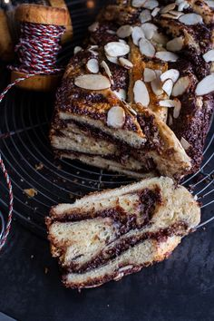 salted chocolate and marzipan babka (Chocolate Banana Babka)