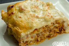 How to make chicken lasagna. easy step by step recipe with photos. an alternative to the classic meat lasagna and that also serves as a use. Coconut Recipes, My Recipes, Pasta Recipes, Chicken Recipes, Snack Recipes, Homemade Frappuccino, Frappuccino Recipe, Meat Lasagna, Chicken Lasagna