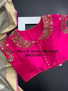 (notitle) – Saree and blouses – (notitle) – Saree und Blusen – Titel Pattu Saree Blouse Designs, Stylish Blouse Design, Fancy Blouse Designs, Lehenga Blouse, Anarkali, Churidar, Designer Blouse Patterns, Streetwear, Glossy Makeup