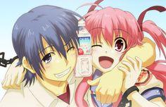 angel beats yui Photo: Hinata and Yui Angel Beats, Anime Angel, Romantic Anime Couples, Cute Anime Couples, Slice Of Life, Otaku, Mystery, Comedy, Satsuriku No Tenshi