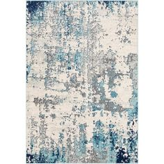 Define an exclusive and grand look to the floors of your residence with the selection of this budget friendly Artistic Weavers Calandra Aqua Area Rug.