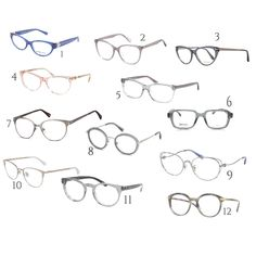 Fashion set Light Summer Eyeglasses created via Light Ash Brown, Sheer Lipstick, Soft Autumn, Small Faces, Color Harmony, Light Spring, Eyeglasses, Eyeshadow, Summer