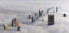 19 Images You Won't Believe Aren't Photoshopped this CGI-esque photo is actually the city skyline of Dubai