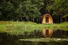 New Farm Organics Pods and Camping, Lincolnshire. We have two pod sites and two camping pitches around the pond http://www.organicholidays.co.uk/at/3201.htm