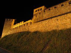 Ponferrada - Castillo Templario de noche