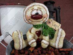 El patrón del niño de jengibre 163  muñeca por GingerberryCreek