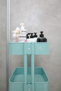Mikrosementti kylpyhuoneessa // ennen ja jälkeen - Marulla Organization, Appliances, Maker, Kitchen, Bathroom, Kitchen Appliances