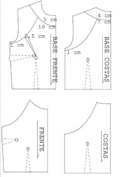 Burda Patterns, Dress Sewing Patterns, Clothing Patterns, Pattern Cutting, Pattern Making, Sewing Collars, Bodice Pattern, Sewing Lessons, Couture Sewing