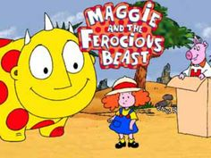 When I was little I absolutely LOVED this show!!!! # MaggieAndTheFerociousBeast #cartoon #90's kid