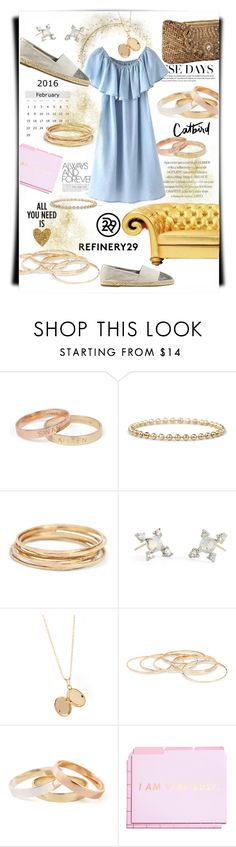 """Gold"" by theitalianglam ❤ liked on Polyvore featuring Dollhouse, ban.do, women's clothing, women, female, woman, misses, juniors, Refinery29 and bando"