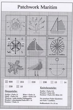 Patchwork Maritime chart