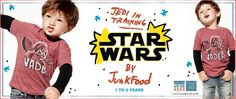 Jedi in training. Star Wars by JunkFood. 1 to 5 years.  New Collection!