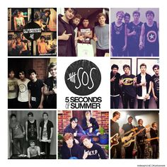 My 5 Seconds Of Summer collage :) --Vanni