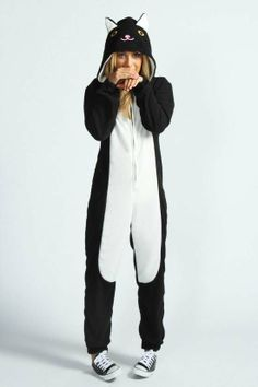 Cat Adult Womens #Onesie Missy #Cat #Animal Onesie, Keep warm and snug this Australian winter with a cute Onesie!  Shop the collection http://www.australiaqld.com/adult-onesies/