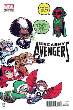 Preview: Uncanny Avengers #1 #WeAreWakanda