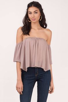 Can't get enough of those shoulders? Get the Live A Little Off Shoulder Blouse. Pair with denim shorts and sandals for that summer beach look.