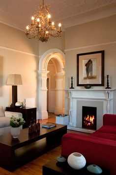 Redcliffe House Lounge#MoreQuarters #LuxuryAccommodationCapeTown #RedcliffeHouse