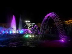 Поющий фонтан Победа Первоуральск (The musical fountain) - YouTube