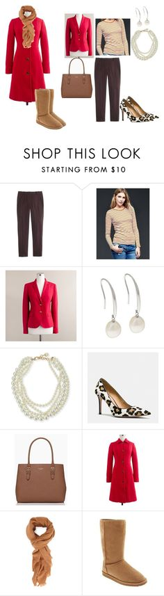 """Feb. 4: Thursday: Speaker Event"" by miigwan ❤ liked on Polyvore featuring J.Crew, Gap, Honora, Lulu Frost, Coach, Kate Spade, Forever 21, Old Navy, women's clothing and women"