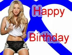 Happy Greetings Congrats: Happy Birthday from Penny Happy Birthday Hot, Beautiful Gif, Birthdays, Greeting Cards, Anniversaries, Birthday, Birth Day