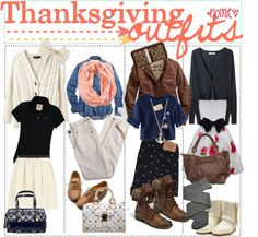 """THANKSGiViNG OUTFiTS;;"" by the-tip-girls-of-neverlan ❤ liked on Polyvore"