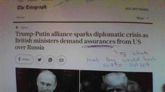 BREAKING : EU & NATO Freak Out Over Putin/Trump Friendship - TNTV