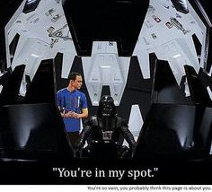 I laughed entirely way too hard at this #StarWars #SheldonCooper