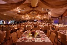 Hallmark Channel Winter 2015 TCA's Dinner tent - Along Came Mary Events