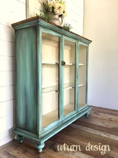 Turquoise hutch By uturn design