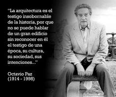 La arquitectura es el libro donde se lee la historia