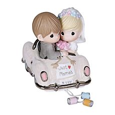 image of Precious Moments® Just Married Porcelain Figurine